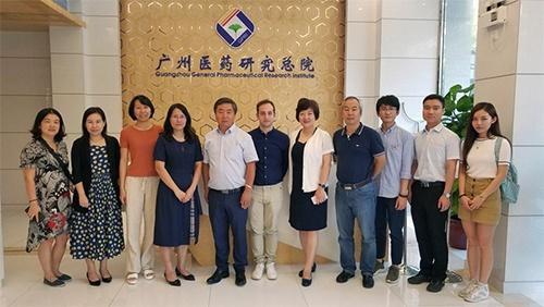 法国Cellvax和广州奥咨达到访广药总院