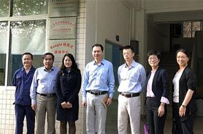 国家科技部基础条件平台中心领导到广药总院考察