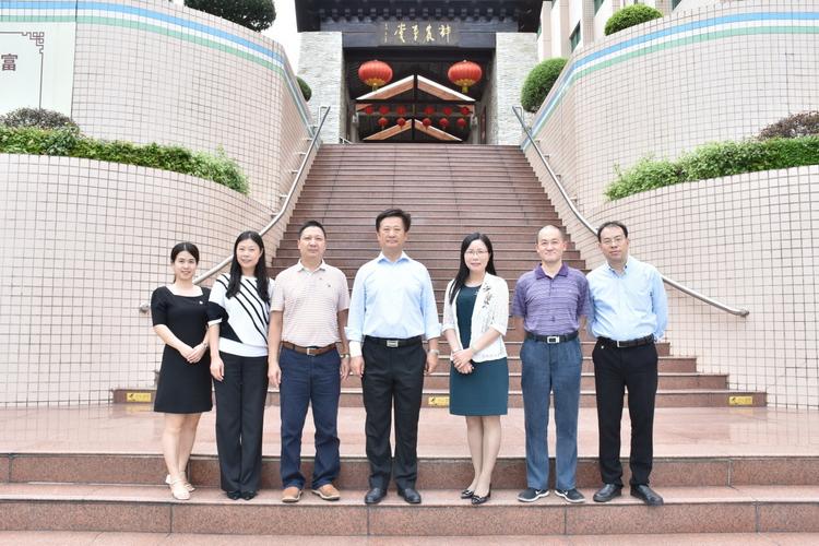 中国能源化学地质工会主席张波莅临广药集团调研指导
