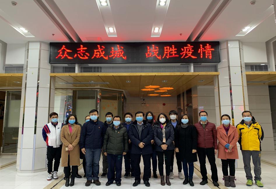 广药集团党委书记、董事长李楚源到广药总院调研指导